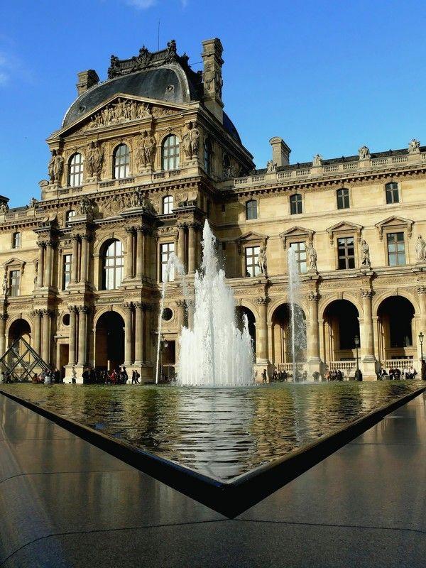 Les angles du Louvre