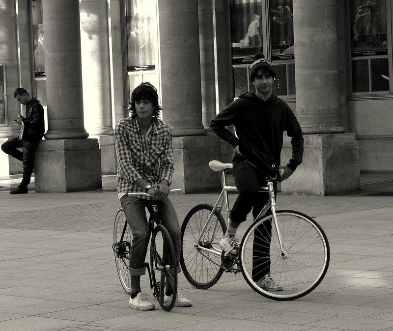 Se brancher sur la station Vélo