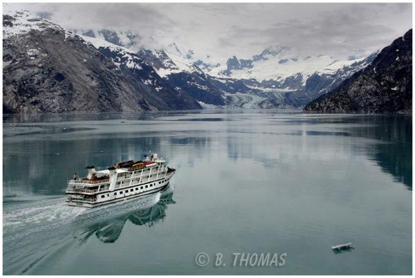 Cruising Glacier Bay, Alaska