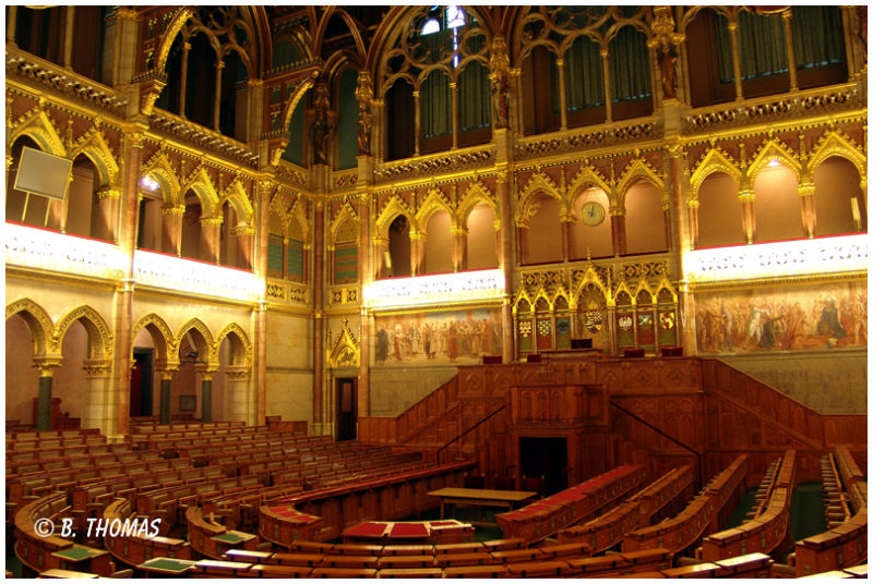 Budapest Parliament Conference Hall
