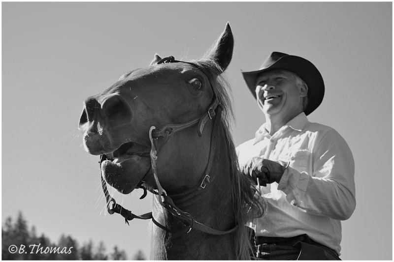 Ride'm Cowboy B&W