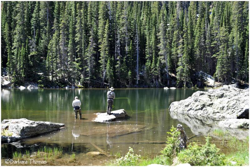 Dream Lake Fishing