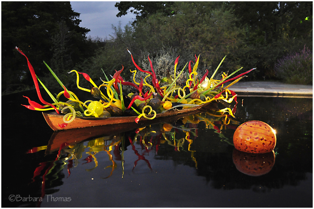 Dallas Chihuly Exhibit