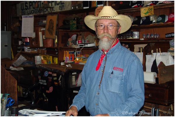Postman - Luckenbach, Texas