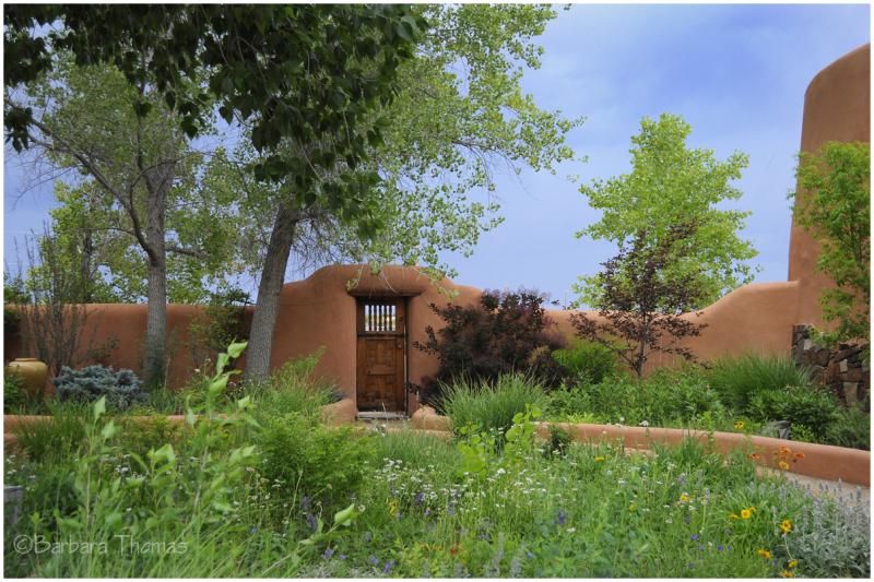 Adobe Garden Wall