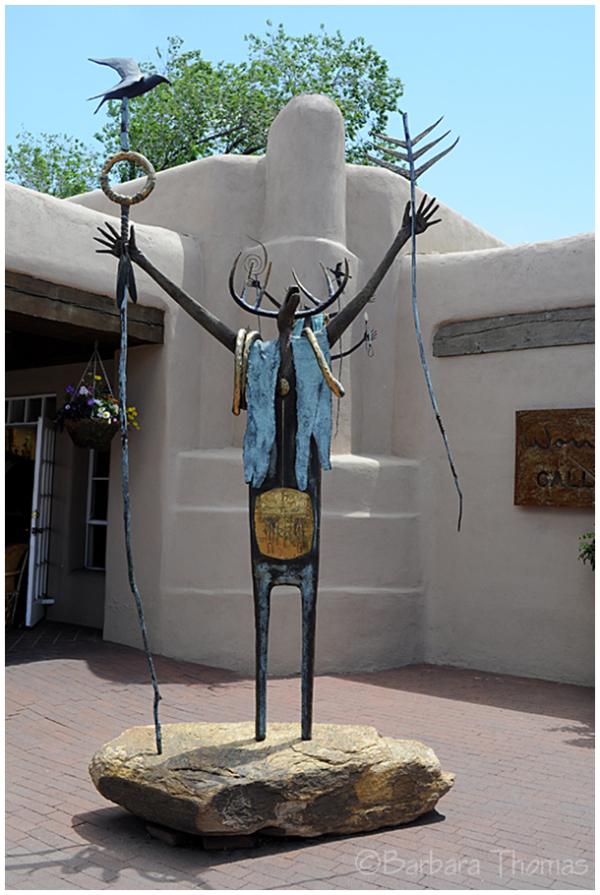 Shaman Sculpture