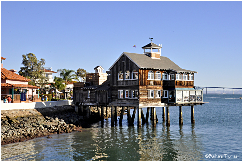 Pier Cafe at Seaport Village