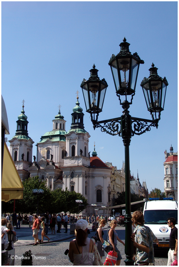 Street Lamps In Prague