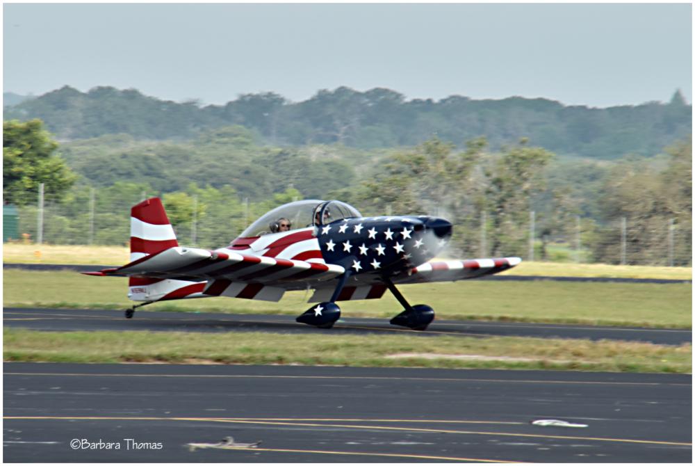 Patriotic Plane