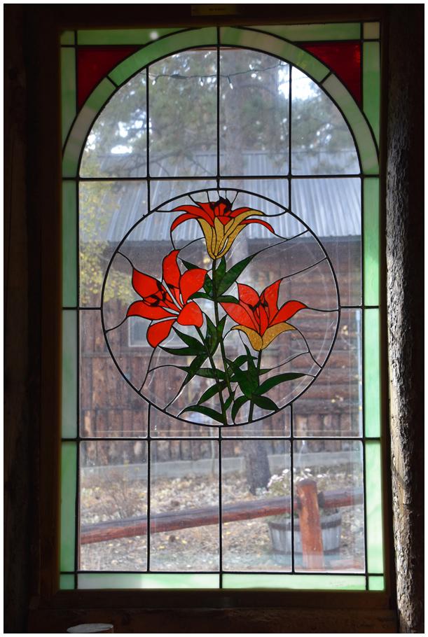 Mountain Church Window