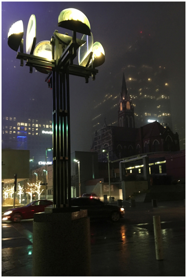 Foggy Dallas Night