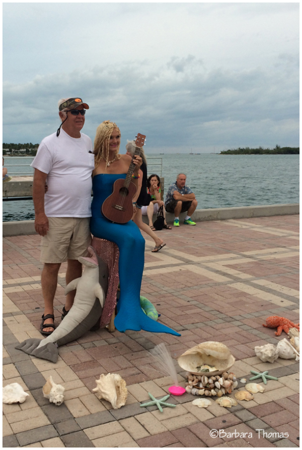 Photo With A Mermaid