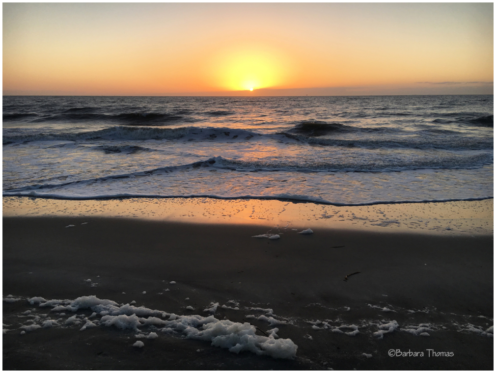 Sunrise & Sea Foam
