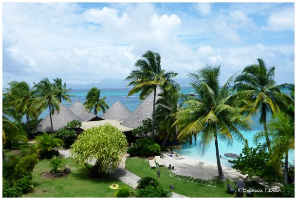 Our Tahiti View Of Moorea