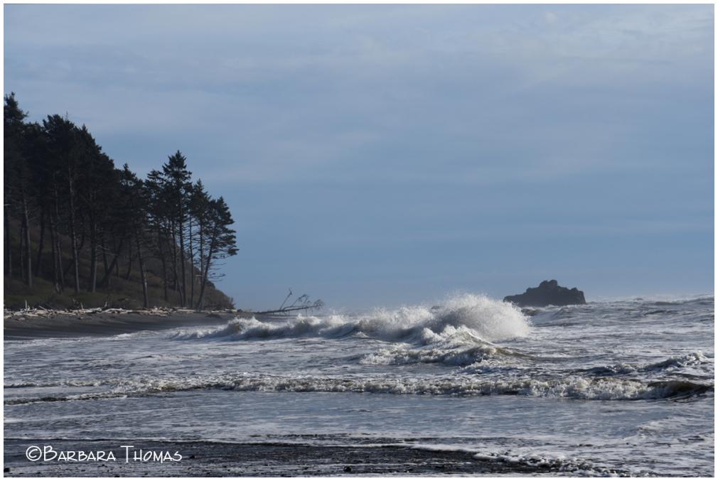 Crashing Waves And Sea Swells