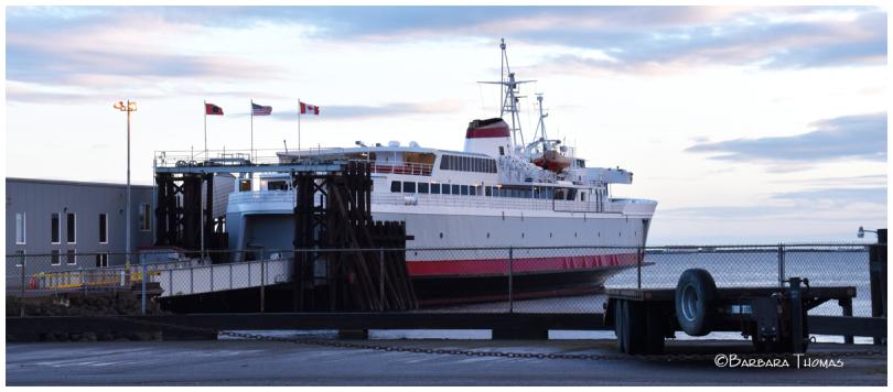 Ferry to Victoria, B.C.