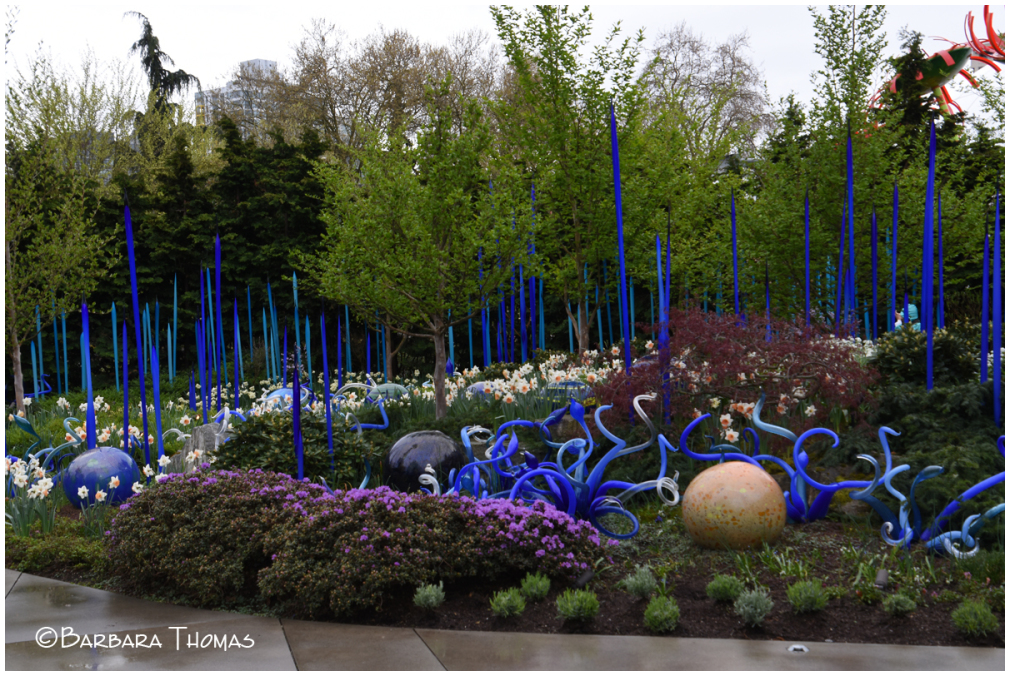 Spring In The Chihuly Garden