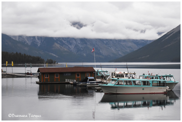 Lake Minnewanka Boat Dock