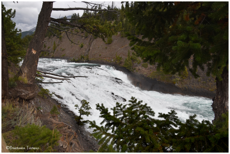 Bow Falls From The Top