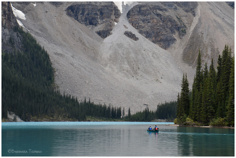 Moraine Lake Canoe