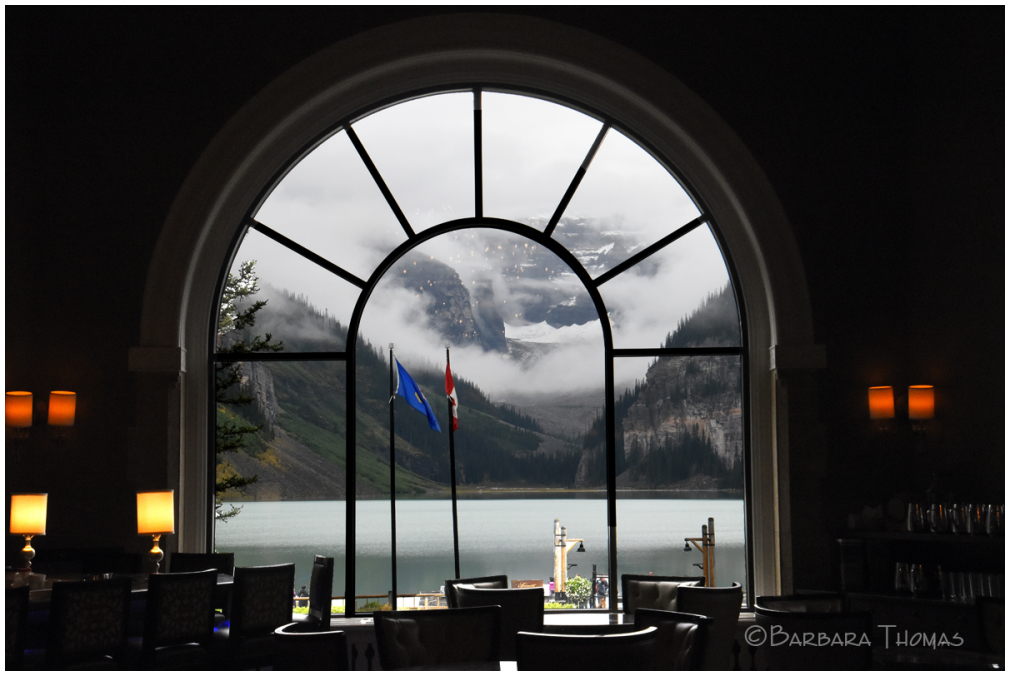 Fairmont View Of Lake Louise
