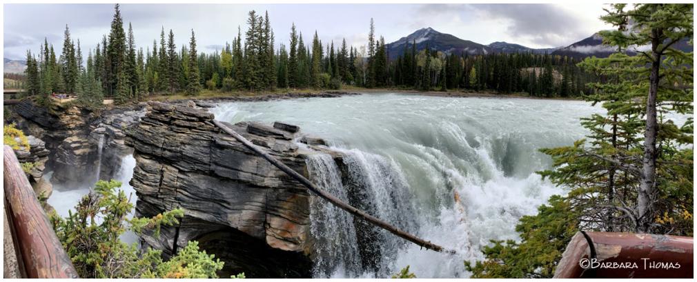 Athabasca Falls -1