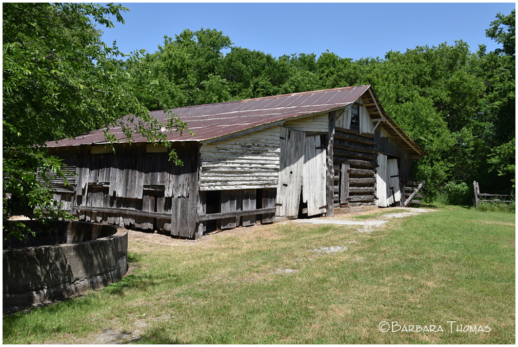 Hand Built Barn