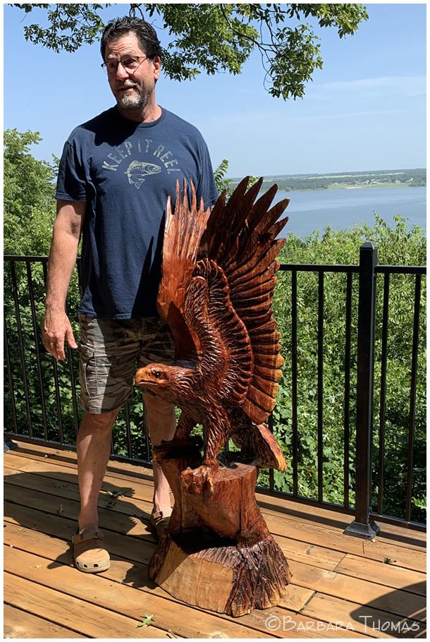Artist & Eagle