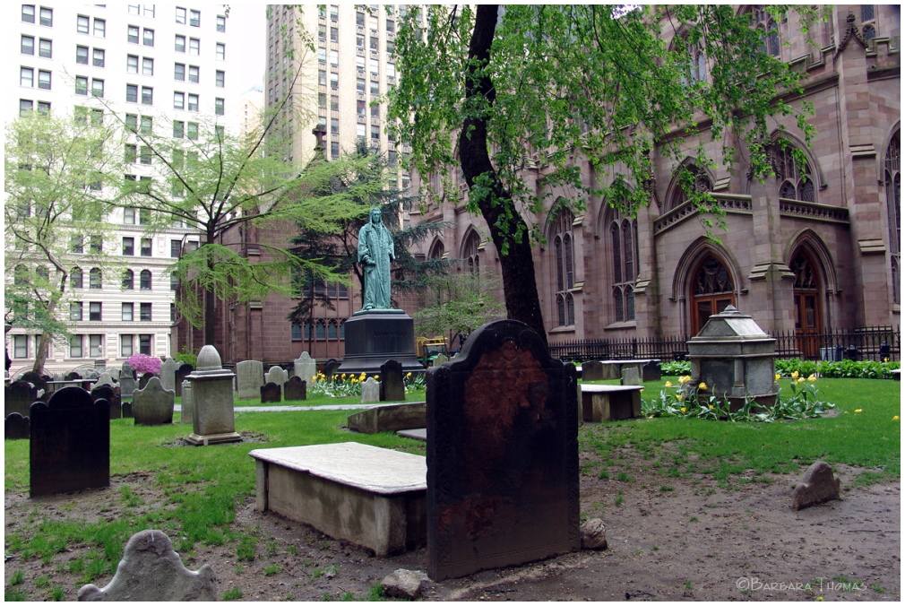 Trinity Churchyard, NYC