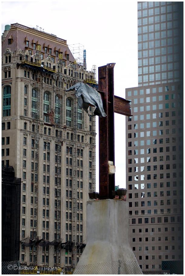9-11 Ground Zero Cross