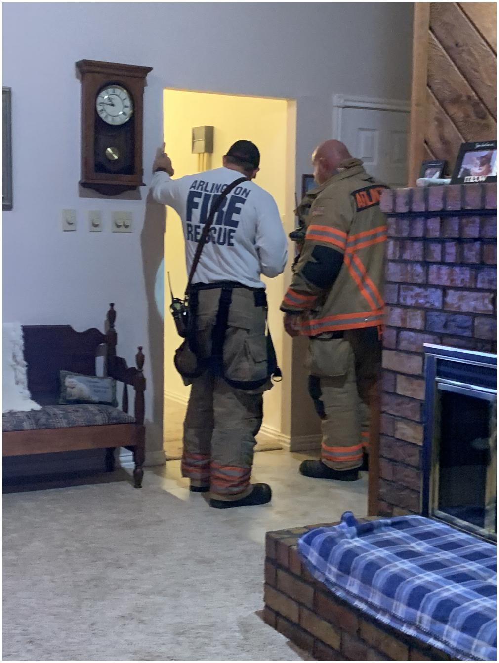 Firemen In My House!