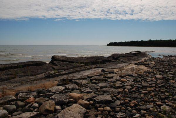 Where 'Alvar' meets the waters of Lake Huron