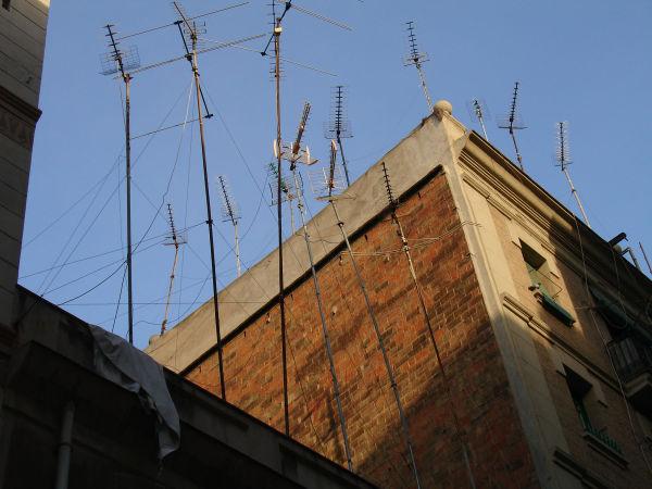 Forêt d'antennes