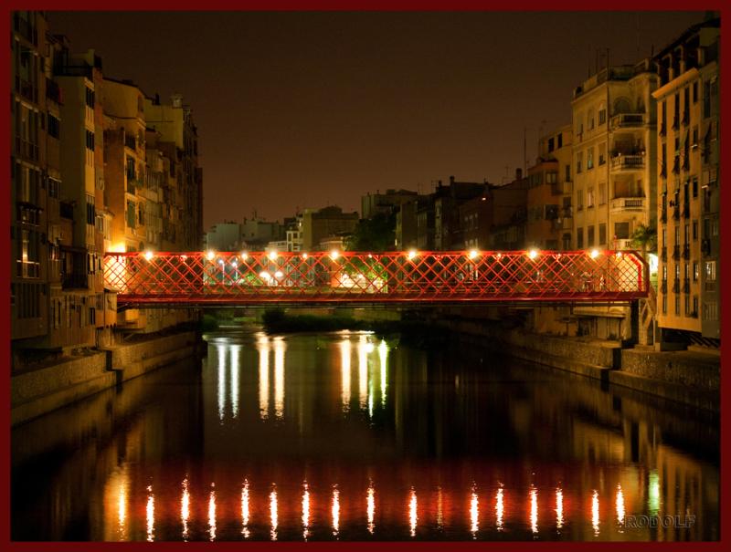 Eiffel's britge. Girona