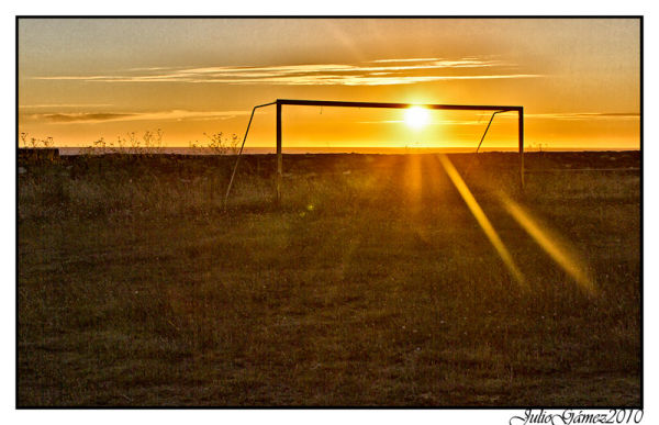 west goal