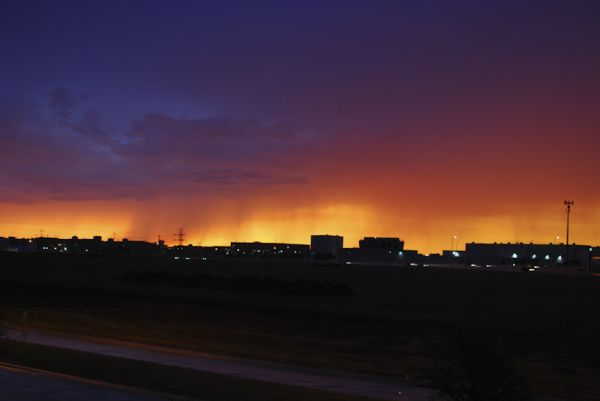 Storm Sunset Sky Clouds Colorful