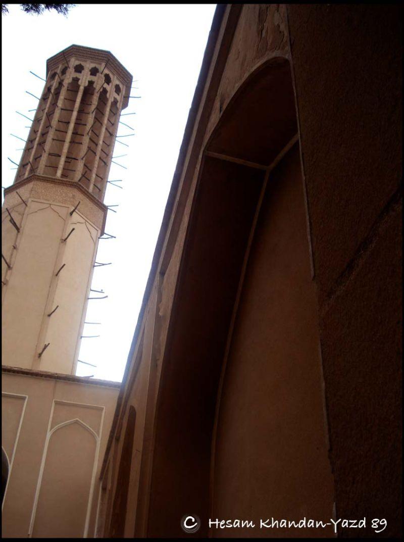The dolat abad garden yazd,iran