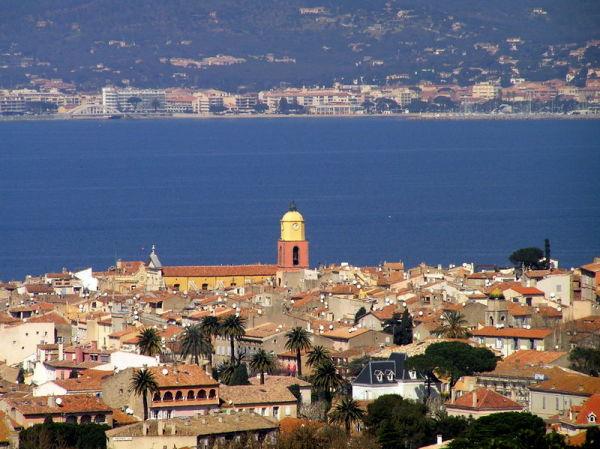St Tropez vu de la Chapelle Ste Anne