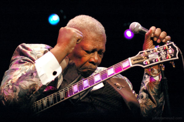 BB King at House of Blues 2005