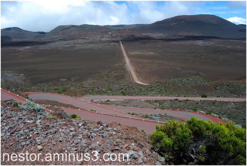 Piton de la Fournaise (île de la Réunion)