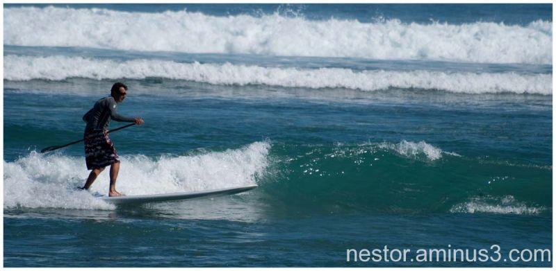 bravo l'artiste des vagues !