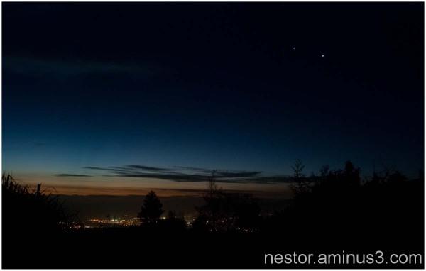 rencontre planétaire Vénus & Jupiter
