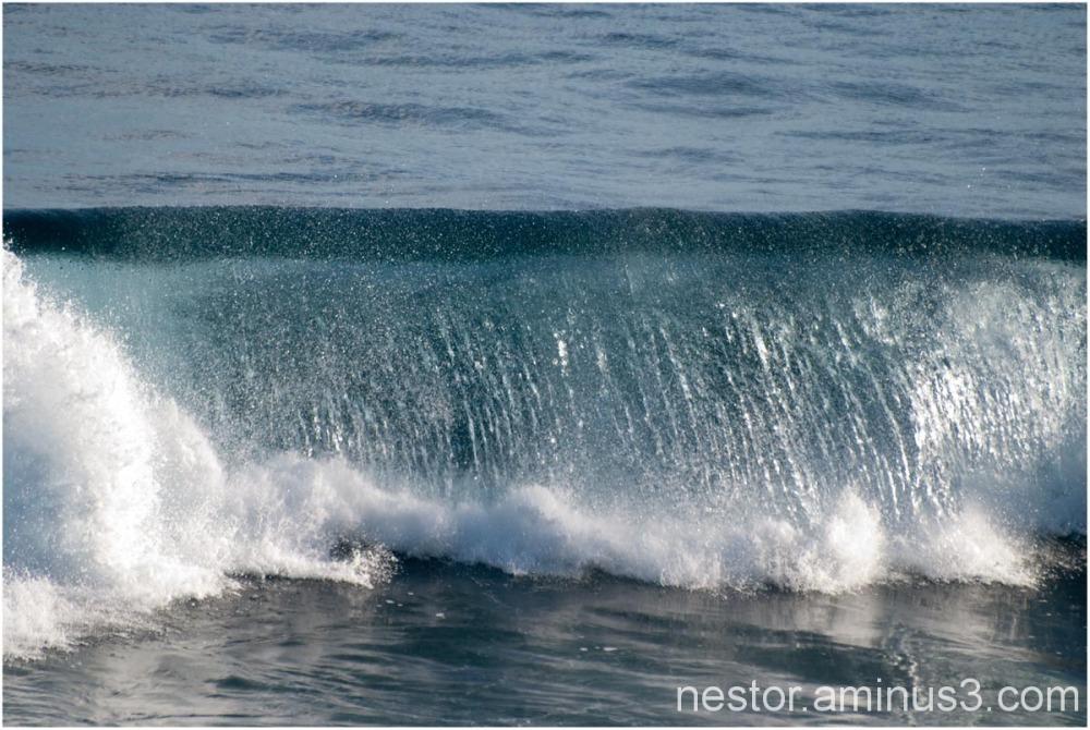 au coeur de la vague