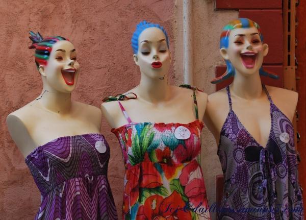 Mannequins de l'Île Rousse