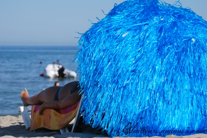 Sur la plage du Domaine d'Anghione