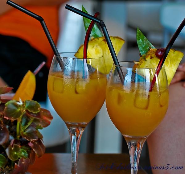 Lounge Bar à l'Île Rousse