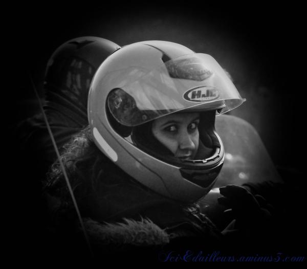 Portrait motarde