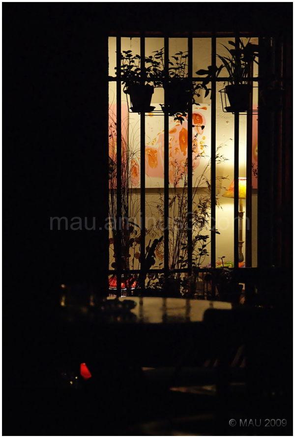 Window to darkness