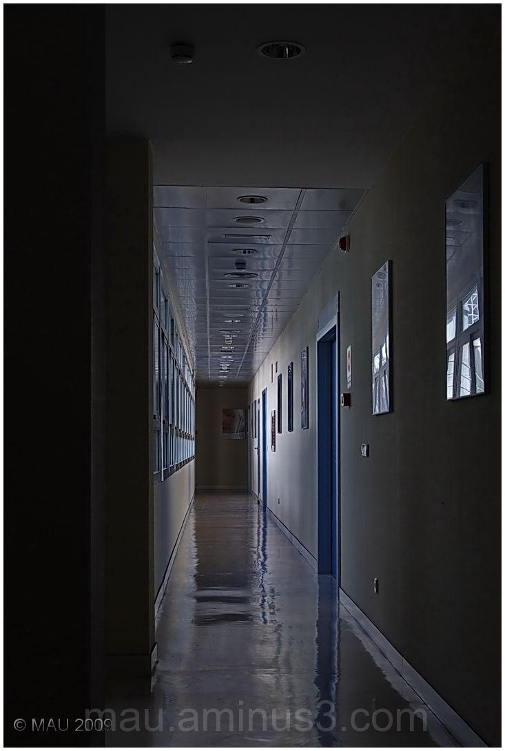 Corridor in a hospital