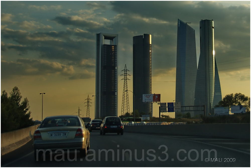 Four Towers Business Area, Madrid